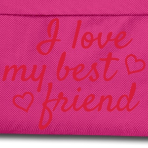 I love my best friend T-Shirts - Kinder Rucksack