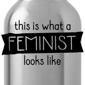 This Is What A Feminist Looks Like Camisetas - Cantimplora