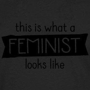 This Is What A Feminist Looks Like T-shirts - Herre premium T-shirt med lange ærmer