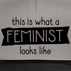 This Is What A Feminist Looks Like Tee shirts - Casquette snapback