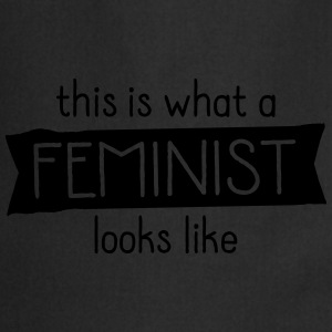 This Is What A Feminist Looks Like Camisetas - Delantal de cocina
