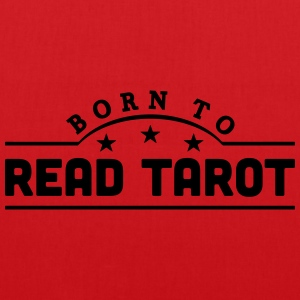 born to read tarot banner t-shirt - Tote Bag
