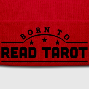 born to read tarot banner t-shirt - Winter Hat