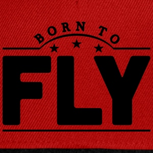 born to fly banner t-shirt - Snapback Cap