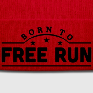 born to free run banner t-shirt - Winter Hat
