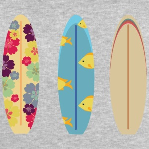 Colorful surfboards Sports wear - Men's Sweatshirt by Stanley & Stella