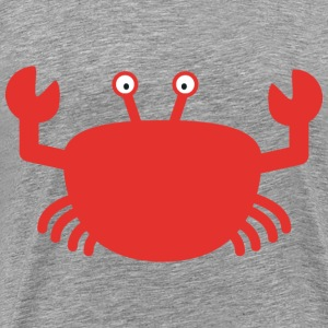 Red crab Long sleeve shirts - Men's Premium T-Shirt