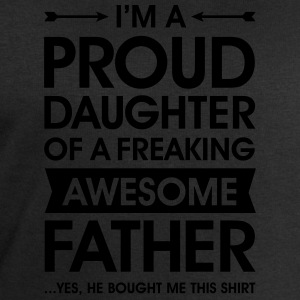 Proud Daughter - Awesome Father (He Bought Me...) T-shirts - Herresweatshirt fra Stanley og Stella