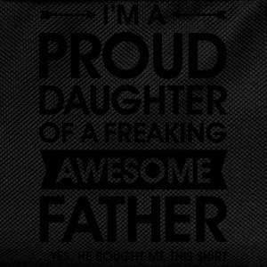 Proud Daughter - Awesome Father (He Bought Me...) T-skjorter - Ryggsekk for barn