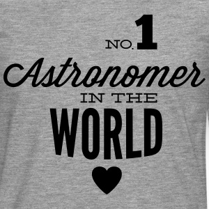 Best astronomer in the world T-Shirts - Men's Premium Longsleeve Shirt