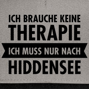 Therapie - Hiddensee T-Shirts - Snapback Cap
