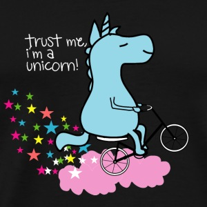Trust Me I'm a Unicorn Einhorn Fahrrad bicycle - Men's Premium T-Shirt