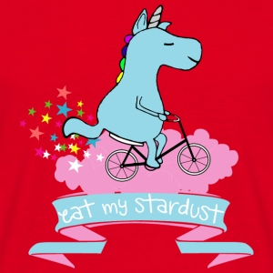 Eat My Stardust #1 Einhorn Unicorn Fahrrad Bicycle - Men's T-Shirt