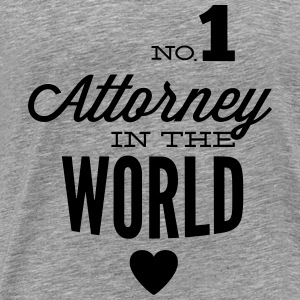 Best lawyer in the world Tops - Men's Premium T-Shirt