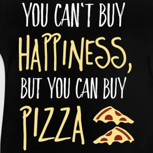 Cant buy happiness, but pizza ne peut pas acheter le bonheur, mais la pizza Tee shirts - T-shirt Bébé