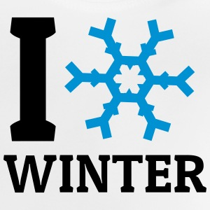 I love Winter ik hou van winter Shirts - Baby T-shirt