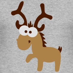 reindeer rendier Sweaters - slim fit T-shirt