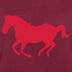 Brown Horse pony riding horse gallop Hoodies & Sweatshirts - Women's Oversize T-Shirt