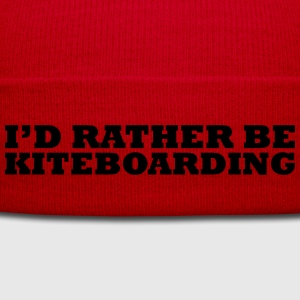 I'd rather be kiteboarding t-shirt - Winter Hat