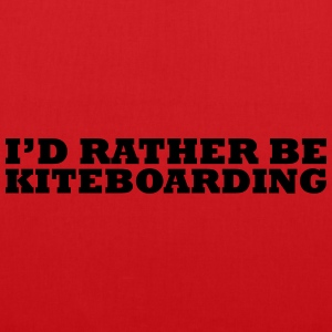 I'd rather be kiteboarding t-shirt - Tote Bag