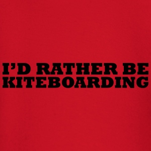 I'd rather be kiteboarding t-shirt - Baby Long Sleeve T-Shirt