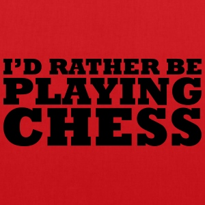 I'd rather be playing chess t-shirt - Tote Bag