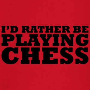 I'd rather be playing chess t-shirt - Baby Long Sleeve T-Shirt