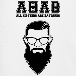 ALL HIPSTERS ARE BASTARDS - Funny Parody  T-Shirts - Men's Football shorts