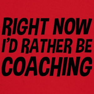 right_now_id_rather_be_coaching t-shirt - Baby Long Sleeve T-Shirt