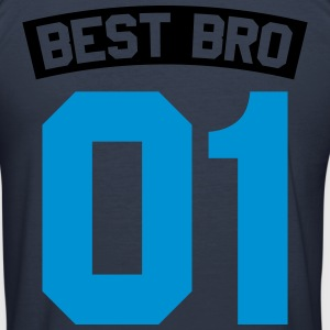 Best Bro Pullover & Hoodies - Männer Slim Fit T-Shirt