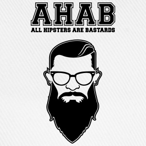 ALL HIPSTERS ARE BASTARDS - Funny Parody  Maglie a manica lunga - Cappello con visiera
