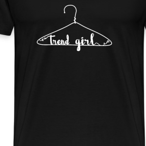 Trend girl  Tops - Men's Premium T-Shirt