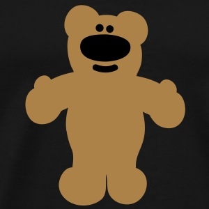 beer  - bear  Sweaters - Mannen Premium T-shirt