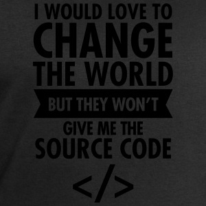 I Would Love To Change The World... T-Shirts - Men's Sweatshirt by Stanley & Stella
