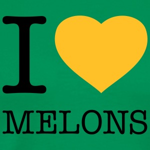 I LOVE MELONS Tabliers - T-shirt Premium Homme