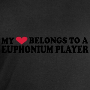 MY HEART BELONGS TO A EUPHONIUM PLAYER T-Shirts - Men's Sweatshirt by Stanley & Stella