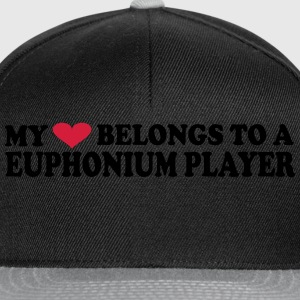 My heart belongs to a Euphonium player - Snapback-caps