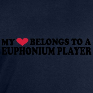 MY HEART BELONGS TO A EUPHONIUM PLAYER T-shirts - Mannen sweatshirt van Stanley & Stella