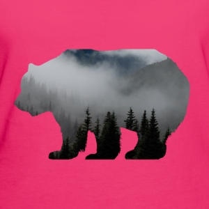 Forester Bear Sweaters - Vrouwen Bio-T-shirt