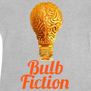Helle Birne Bulb FictionPulp Fiction für Brains. - Baby T-Shirt