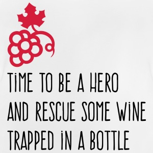 We have to save the wine from his bottle! Shirts - Baby T-Shirt