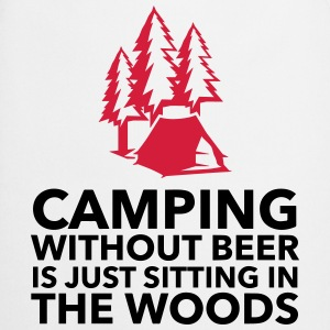 Camping is not possible without beer! Hoodies - Cooking Apron