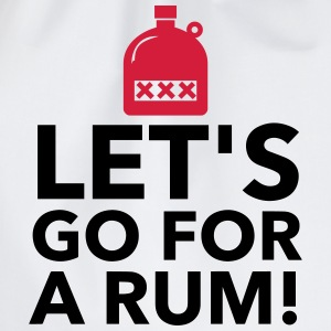 Let s drink a rum! Tank Tops - Drawstring Bag