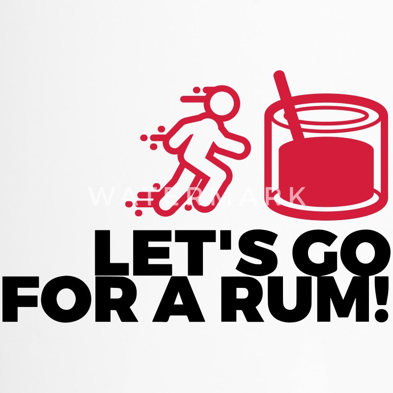 Let s drink a rum! Mugs & Drinkware - Travel Mug