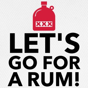 Let s drink a rum! Tops - Baseball Cap