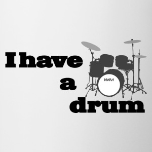 i have a drum  T-shirts - Kop/krus