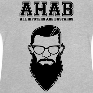 ALL HIPSTERS ARE BASTARDS - Funny Parody  Langarmshirts - Baby T-Shirt