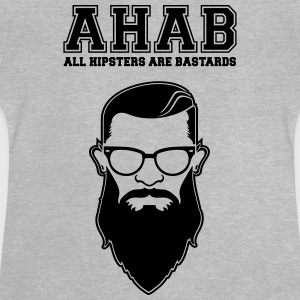 ALL HIPSTERS ARE BASTARDS - Funny Parody  Långärmade T-shirts - Baby-T-shirt