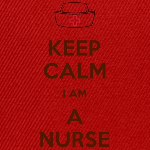 keep calm nurse T-Shirts - Casquette snapback