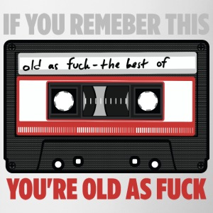 Cassette old as fuck - Mug